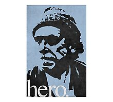 Hero - Charles Bukowski Photographic Print