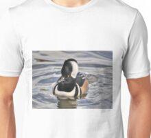 Male Hooded Merganser Unisex T-Shirt
