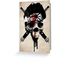 Death to LaRusso Greeting Card
