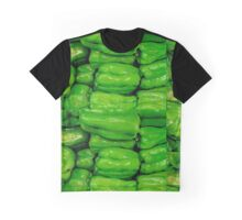 Green Peppers Graphic T-Shirt
