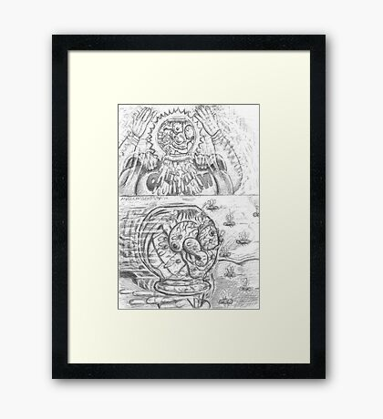 Chapter 2: page 3 Framed Print