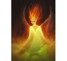 Flame Woman Photographic Print