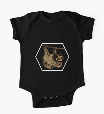 Sloth (No Background) One Piece - Short Sleeve