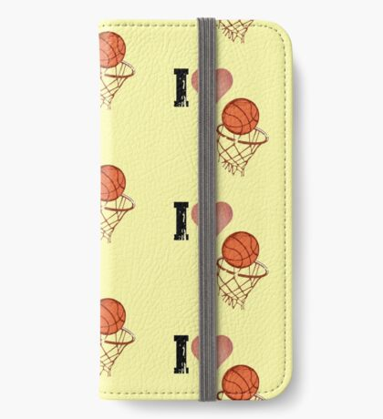 Basketball love iPhone Wallet/Case/Skin