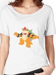 Bowser splattery vector T Women's Relaxed Fit T-Shirt
