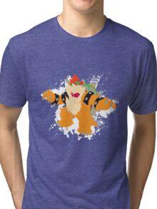Bowser splattery vector T Tri-blend T-Shirt