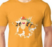 Bowser splattery vector T Unisex T-Shirt
