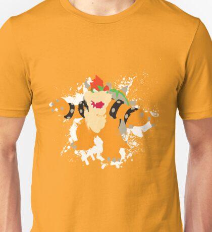 Bowser splattery vector T T-Shirt