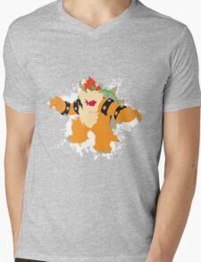 Bowser splattery vector T Mens V-Neck T-Shirt