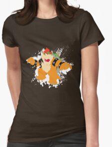 Bowser splattery vector T Womens Fitted T-Shirt