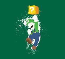 Luigi Paint Splatter Shirt T-Shirt