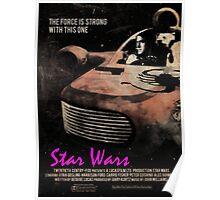 Star Wars X Drive Poster