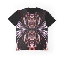 Abstract Spider Graphic T-Shirt