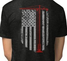 Crane Operators  Tri-blend T-Shirt