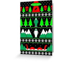 Paranormal Christmas Greeting Card