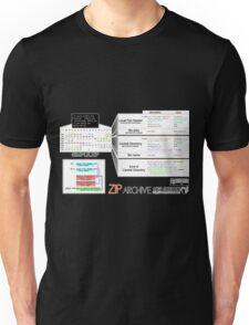 a mini ZIP Unisex T-Shirt