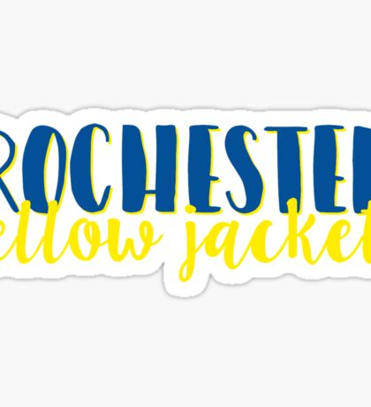 Rochester Yellow Jackets Sticker