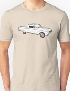 1962 Ford Falcon Pickup Truck Illustration Unisex T-Shirt