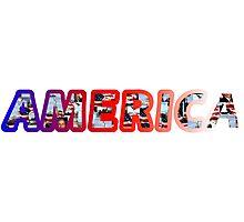 America! Photographic Print