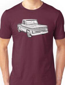 1965 Chevrolet Pickup Truck Illustration Unisex T-Shirt