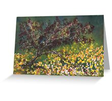 Spring Red Maple Greeting Card