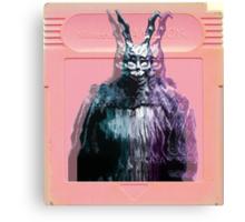Vaporwave Donnie Darko! Canvas Print