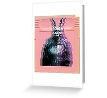 Vaporwave Donnie Darko! Greeting Card