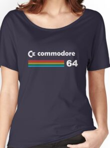 Commodore 64 Retro Computer Tshirt  Women's Relaxed Fit T-Shirt