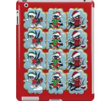 Christmas cookies. Bullfinches iPad Case/Skin