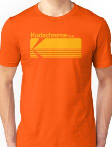 Kodachrome film Unisex T-Shirt