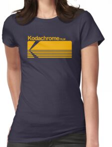 Kodachrome film Womens Fitted T-Shirt