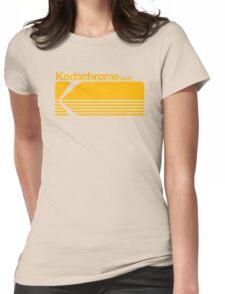 Kodachrome film Womens Fitted T-Shirt