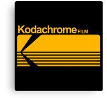 Kodachrome film Canvas Print