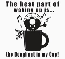 Funny, Unique and Cute Coffee Lovers Cool T-Shirt One Piece - Short Sleeve