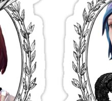 Max and Chloe (Transparent) - Life is Strange Sticker