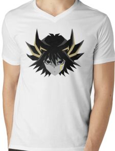 Signer Fudo - Yu-Gi-OH 5DS T-Shirt Mens V-Neck T-Shirt