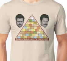 ron swanson pyramid of greatness Unisex T-Shirt