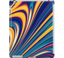 Color and Form - Curved Waves Flowing Lines  iPad Case/Skin