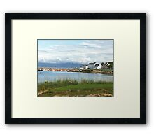 Portmahomack harbour Framed Print