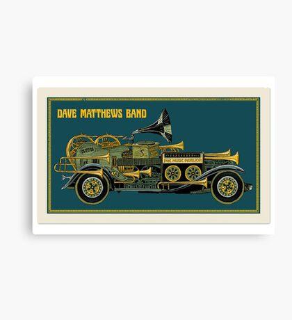 DAVE MATTEWS BAND COVER - PNC MUSIC PAVILION Canvas Print