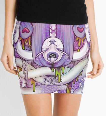 Two Faced  Mini Skirt
