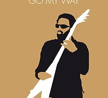 No050 MY LENNY KRAVITZ Minimal Music poster by Chungkong