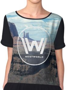 WEST WORLD Chiffon Top