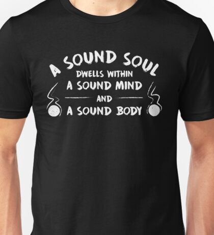 A Sound Soul - Vintage on Dark Unisex T-Shirt