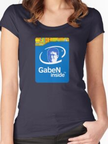 Lord GabeN Inside Women's Fitted Scoop T-Shirt