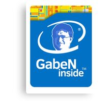 Lord GabeN Inside Canvas Print