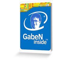 Lord GabeN Inside Greeting Card