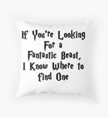 Newt Scamander Throw Pillow