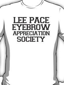 Lee Pace Eyebrow Appreciation Society  T-Shirt