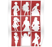 Tales of Xillia 2 - Character Roster (Red) Poster